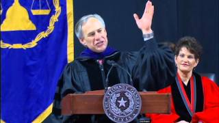 Texas Attorney General Greg Abbott Delivers Keynote Address at Texas Tech Law