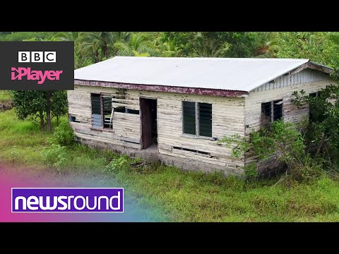 Rising sea levels force village to relocate   Fiji on the climate change frontline   Newsround