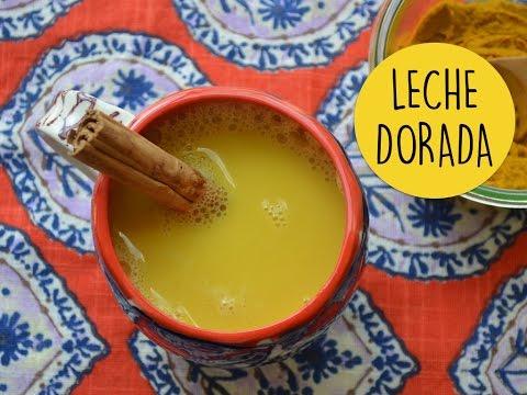 BENEFICIOS DE LA LECHE DORADA // RECETA !