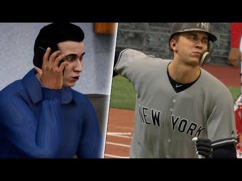 THE RETIREMENT OF BRETT BARRETT!? MLB The Show 18 Road To The Show