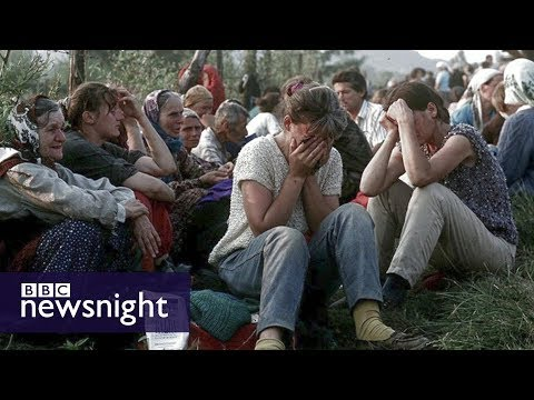 The Butcher of Bosnia - BBC Newsnight