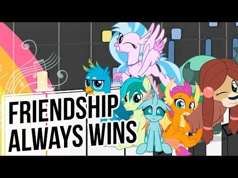 Friendship Always Wins – My Little Pony: FiM –Synthesia Piano Cover
