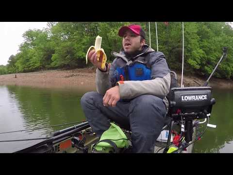 Maryland Kayak Bass Fishing Tournament Deep Reservoir Post Spawn