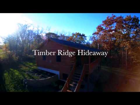 Timber Ridge Hideaway With Iowa Cabin Rentals