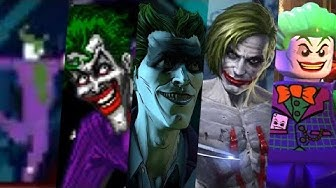 Evolution of Joker in Games 1986-2018