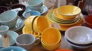 Colourful Retro Dishes