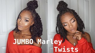 CHUNKY MARLEY TWIST BOB | Q&A + How To: $40 Natural Protective Style