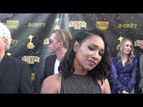 Candice Patton Interview at the 2017 Saturn Awards