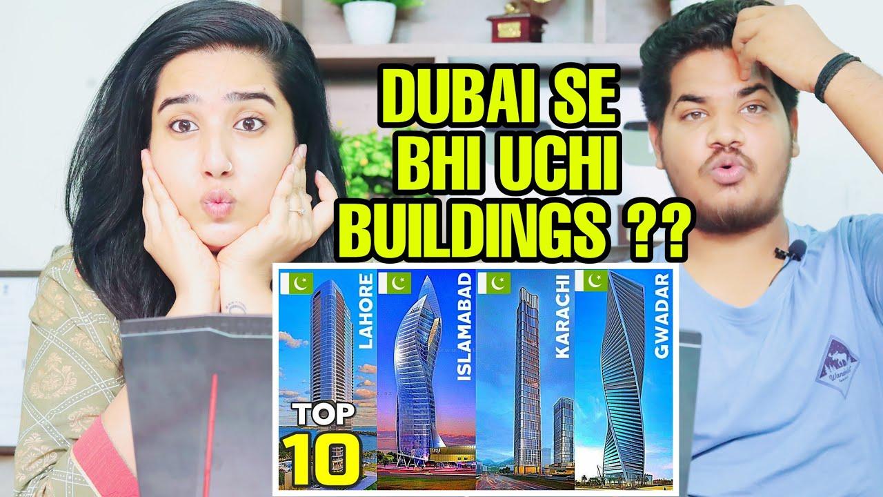 Indian Reaction On TOP 10 Tallest Buildings In Pakistan 2021 | Krishna Views