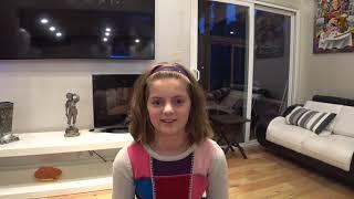 Саша - американская семиклассница, расскажет об американской школе