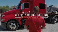 McElroy Truck Lines | Driver Equipment