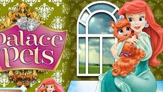 NEW мультик онлайн для девочек—русалочка Ариэль питомцы—Игры для детей