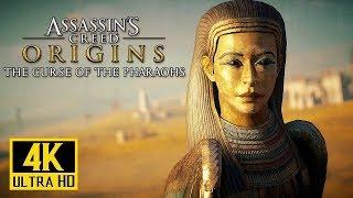 [4K] Assassins Creed Origins - Curse of the Pharaohs DLC Launch Trailer @ 2160p ✔