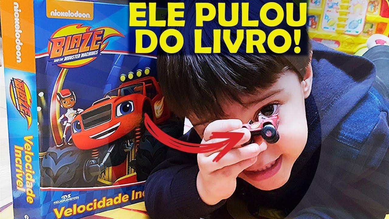 Blaze And The Monster Machines Brinquedo Gratis Youtube