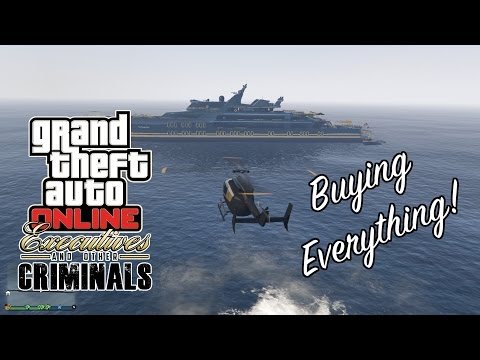 GTA 5 PC - Executives and Other Criminals Update - The Toasty Boat!
