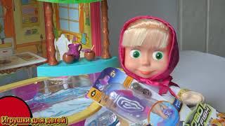 Барби Маша и медведь играют с Роборыбкой Приключения Барби на русском