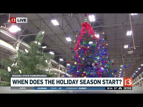 When does the Holiday Season Start?
