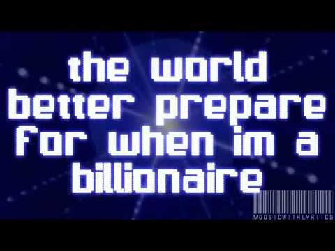 Billionaire-BrunoMars&TravieMcCoy -- Lyrics (Clean) On Screen.