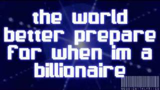 Billionaire-BrunoMars&TravieMcCoy -- Lyrics (Clean) On Screen.