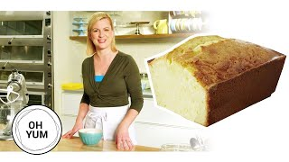 How To Bake The Classic Lemon Pound Cake   Oh Yum with Anna Olson