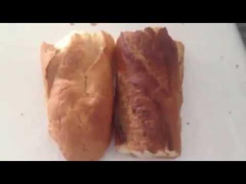 Faire du pain frais avec du vieux pain youtube for Congeler du pain frais
