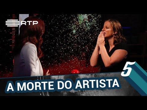 'A Morte do Artista' c/ Joana Gama, Rita Camarneiro e Ruben Rua   5 Para a Meia-Noite   RTP