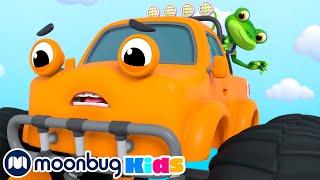 Flying Monster Truck!   NEW Gecko's Garage   Funny Kids Cartoons & Baby Videos