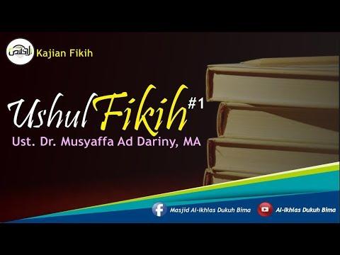 Kajian Umum : Syarah Kitab Ushul Fiqh #1 - DR. Musyafa Ad Dariny, MA