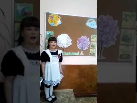 Изображение предпросмотра прочтения – ОлесяКривенцева читает произведение «Весна» А.Н.Плещеева