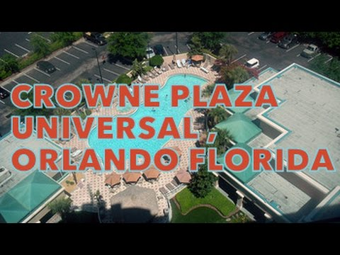 Universal Crowne  Plaza In  Orlando (Florida) Room Review