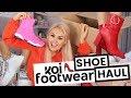 SHOE HAUL DESIGNER DUPES // KOI FOOTWEAR // AUTUMN TRY ON
