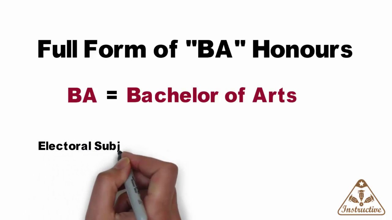 Full form of BA - YouTube