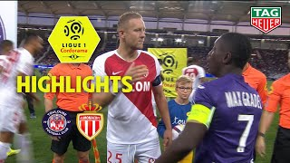 Toulouse FC - AS Monaco ( 1-1 ) - Highlights - (TFC - ASM) / 2018-19