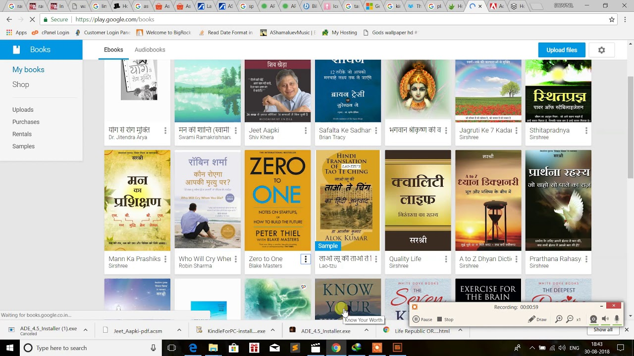 how to read google play books in windows
