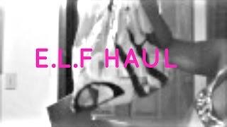 E.L.F HAUL Thumbnail