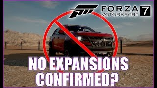 Forza Motorsport 7: NO EXPANSIONS CONFIRMED!!!