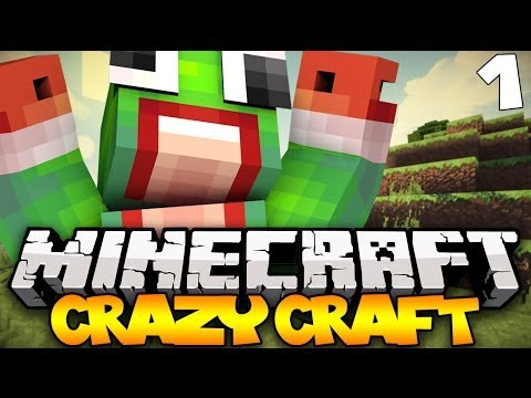 Minecraft: Crazy Craft Modded Survival - Ep. 1 - THIS IS CRAZY!