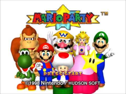 Mario Party Music (N64) - Title Screen