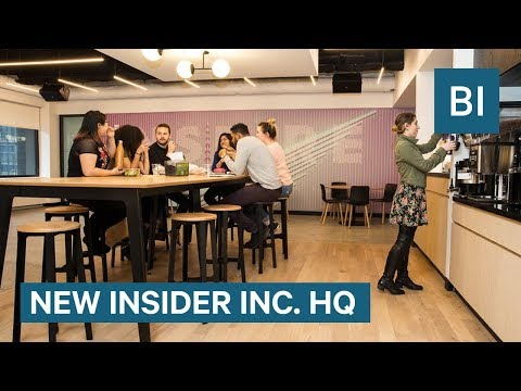 Tour The Brand New Global Headquarters Of Insider Inc