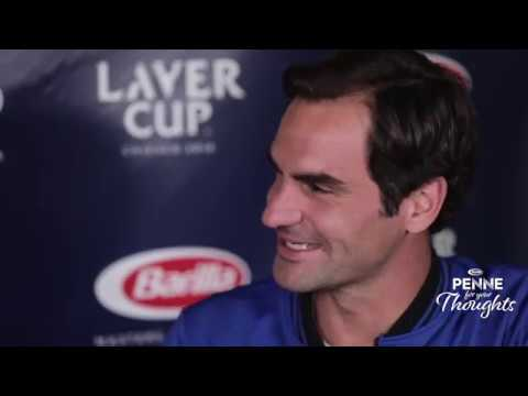 Penne for Your Thoughts – Mikaela Shiffrin & Roger Federer