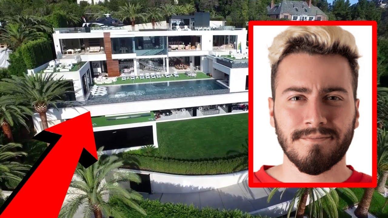 Enes Baturun Milyon Dolarlik Yeni Evi Youtube