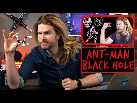 Ant-Man Black Hole | Because Science Footnotes
