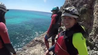 Mallorca adventure sea caving