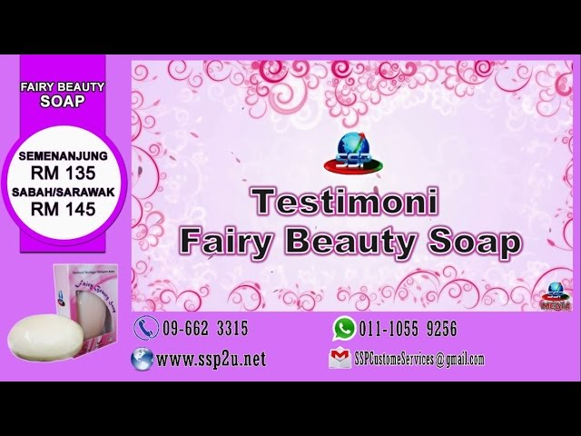 Testimoni SSP 1 (Fairy Beauty Soap)