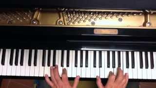 Tutorial piano y voz Estremécete  ( Los Llopis )