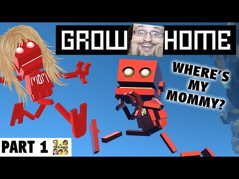 Lets Play GROW HOME! Part 1: Where's My Mommy?  (FGTEEV Trap