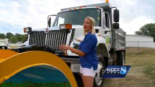 Snow plow driver will soon have shovels thrown at her
