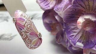 Nail Tutorial : Spring flower Nail Art  Простой весенний маникюр 💅