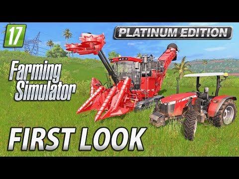 Farming Simulator 2017 Platinum Edition   First Look Gameplay thumbnail