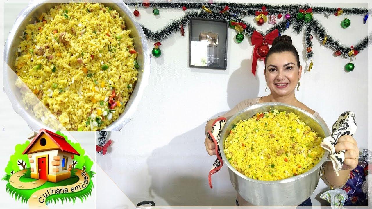 Almoço Fácil E Rápido Para Muita Gente Culinária Em Casa Youtube